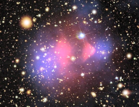 Dark Matter in Colliding Clusters