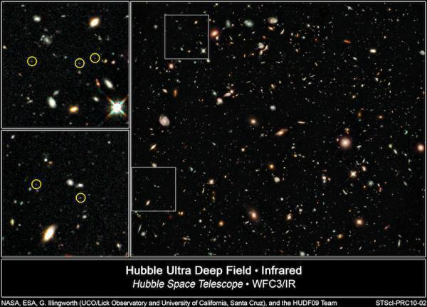Furthest Galaxies