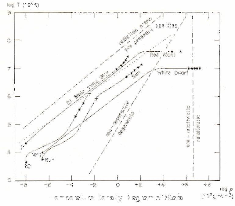 Temperature-Density Diagram